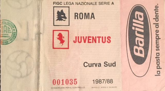 roma juve biglietto