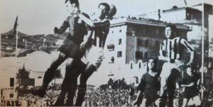 Genoa - Juventus 9 febbraio 1941, una fase di gioco
