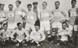 Una formazione della Novese nella stagione 1921 – 1922