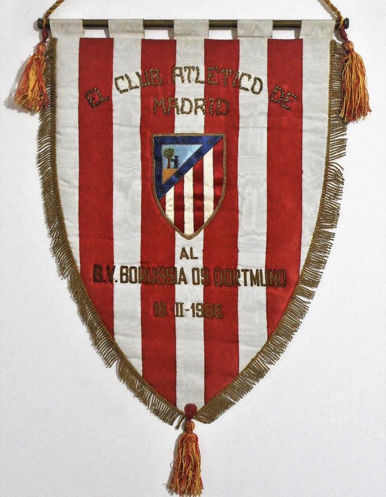 Esattamente cinquantacinque anni fa l'Atletico Madrid sfidava, nei quarti di finale della Coppa del Coppe, i tedeschi del Borussia Dortmund