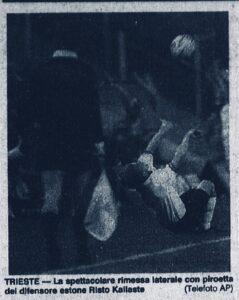 Dalla Gazzetta del 15 febbraio 1993