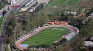 Lo stadio dell'Imolese Romeo-Galli