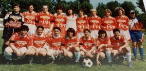 Con il Fiammamonza 1994/95